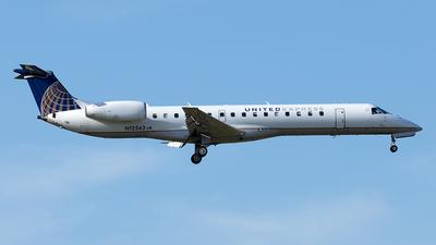 N12563 - Embraer ERJ-145LR - United Express (ExpressJet Airlines)