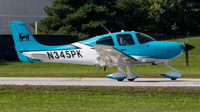 N345PK - Cirrus SR22T - Private