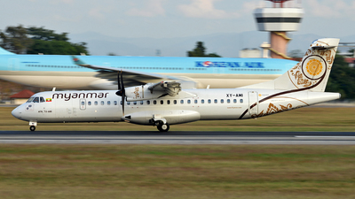 A picture of XYAMI - ATR 72600 - Myanmar National Airlines - © Ratchapon Pipitsombat