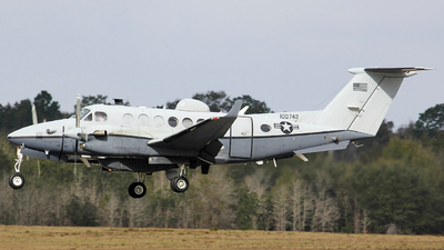10-0742 - Beechcraft MC-12W Liberty - United States - US Air Force (USAF)