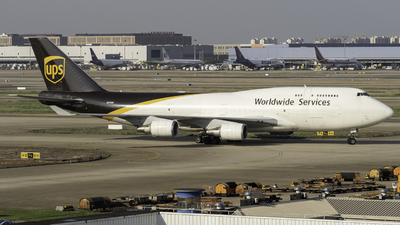 A picture of N579UP - Boeing 74745E(BCF) - UPS Airlines - © KiDo.Wang