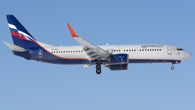 A picture of VPBCG - Boeing 7378LJ - Aeroflot - © SN7756