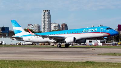 A picture of LVCKZ - Embraer E190AR - Aerolineas Argentinas - © Dana Low