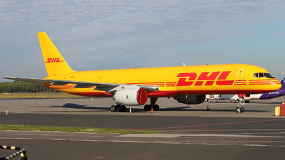 A picture of GBIKG - Boeing 757236(SF) - DHL - © Pawel Cieplak
