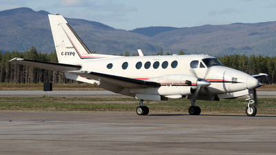 C-FUPQ - Beechcraft A100 King Air - Exact Air