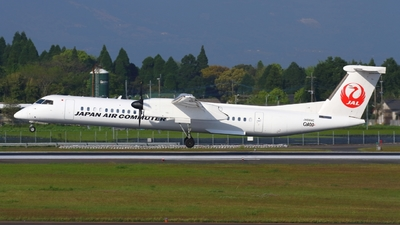 JA844C - Bombardier Dash 8-Q402 - Japan Air Commuter (JAC)