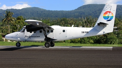 5W-FAW - De Havilland Canada DHC-6-300 Twin Otter - Polynesian Airlines