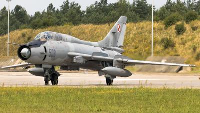 508 - Sukhoi Su-22UM3K Fitter G - Poland - Air Force