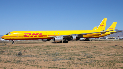 N805DH - Douglas DC-8-73(AF) - DHL Airways