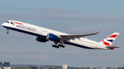 A picture of GXWBB - Airbus A3501041 - British Airways - © Archie B