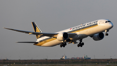 9V-SCL - Boeing 787-10 Dreamliner - Singapore Airlines