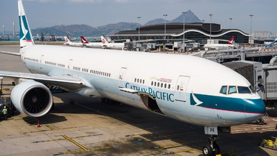 A picture of BKPK - Boeing 777367(ER) - Cathay Pacific - © Adrian Fong