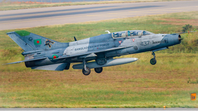 2437 - Chengdu FT-7MB - Bangladesh - Air Force