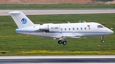 TC-ARD - Bombardier CL-600-2B16 Challenger 604 - Arkasair