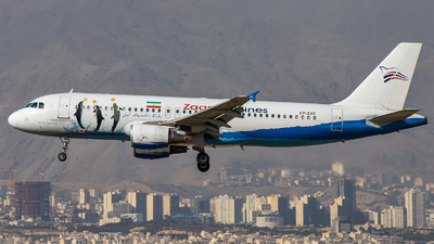 EP-ZAT - Airbus A320-214 - Zagros Airlines