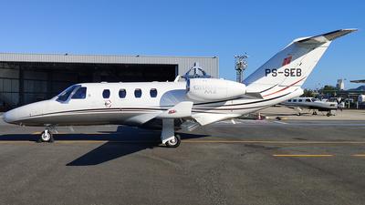 PS-SEB - Cessna 525 CitationJet M2 - Private