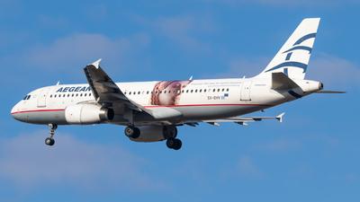 SX-DVV - Airbus A320-232 - Aegean Airlines
