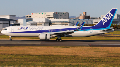 JA625A - Boeing 767-381(ER) - All Nippon Airways (ANA)