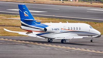 F-HATV - Cessna Citation Latitude - AstonJet