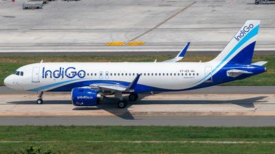A picture of VTIZX - Airbus A320271N - IndiGo - © Sandeep Pilania