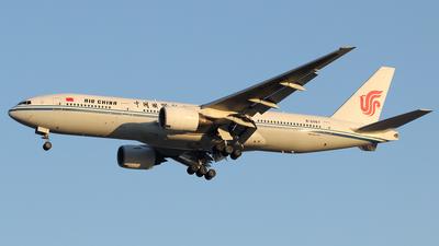 A picture of B2067 - Boeing 7772J6 - [29746] - © Liu Yonggang