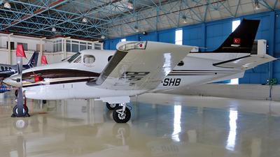 TC-SHB - Beechcraft C90GTi King Air - Anadolu University Civil Aviation School