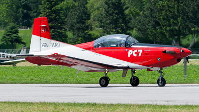 HB-HAO - Pilatus PC-7 - Private