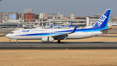 A picture of JA63AN - Boeing 737881 - All Nippon Airways - © Tsumugu Ono