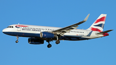 G-EUYR - Airbus A320-232 - British Airways
