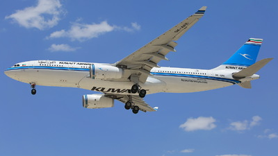 9K-APE - Airbus A330-243 - Kuwait Airways