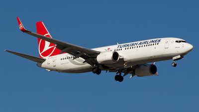 TC-JFR - Boeing 737-8F2 - Turkish Airlines