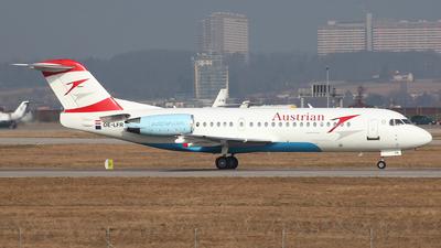 OE-LFR - Fokker 70 - Austrian Airlines