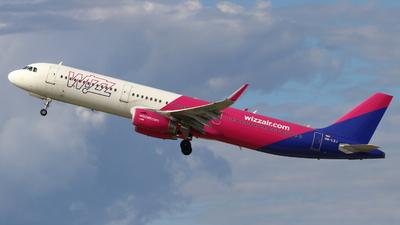 A picture of HALXJ - Airbus A321231 - Wizz Air - © wroblik75