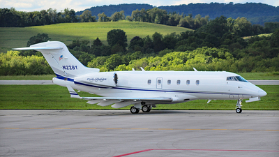 A picture of N228Y - Bombardier Challenger 300 - [20194] - © Jenna Achtzehn