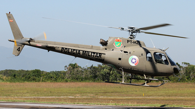 PT-HZL - Eurocopter AS 350B2 Ecureuil - Brazil - Military Police