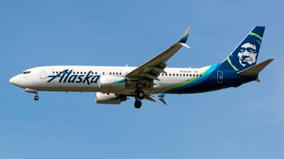 A picture of N523AS - Boeing 737890 - Alaska Airlines - © Connor Ochs