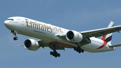 A picture of A6EPX - Boeing 77731H(ER) - Emirates - © Didier Vittoz