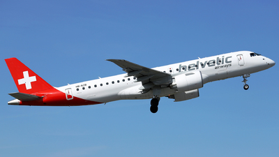 A picture of HBAZB - Embraer E190E2 - Helvetic Airways - © Marin Ghe.