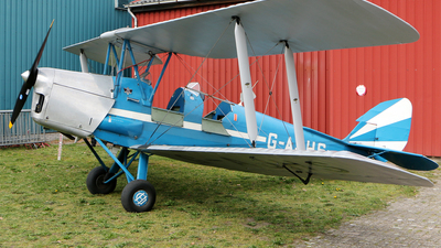 G-AJHS - De Havilland DH-82A Tiger Moth - Private