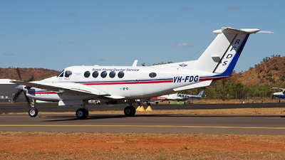VH-FDG - Beechcraft B200 Super King Air - Royal Flying Doctor Service of Australia (Western Operations)
