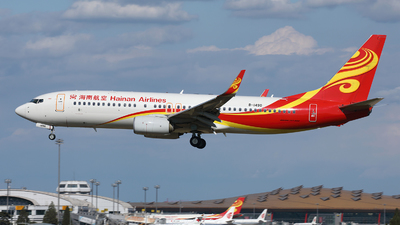A picture of B1490 - Boeing 73784P - Hainan Airlines - © Liu Yonggang