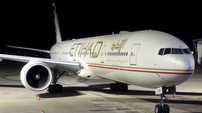 A picture of A6ETP - Boeing 7773FX(ER) - Etihad Airways - © Ken Chen