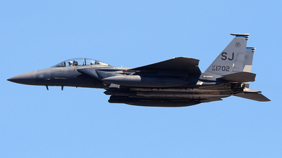 88-1702 - McDonnell Douglas F-15E Strike Eagle - United States - US Air Force (USAF)