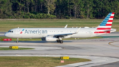 A picture of N144AN - Airbus A321231 - American Airlines - © Kyle McKinlay