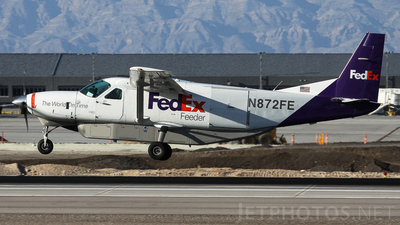 N872FE - Cessna 208B Super Cargomaster - FedEx Feeder (West Air)