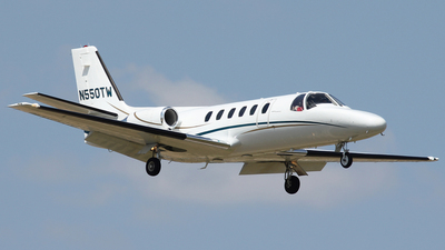 N550TW - Cessna 550 Citation II - Private