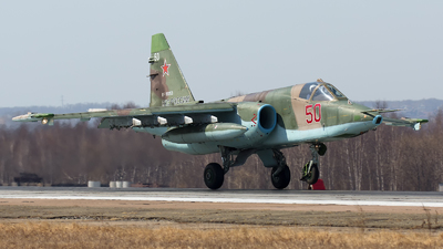 RF-93053 - Sukhoi Su-25SM Frogfoot - Russia - Air Force