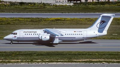 D-AEWA - British Aerospace BAe 146-300 - Eurowings