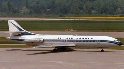 F-BHRY - Sud Aviation SE 210 Caravelle III - Air France