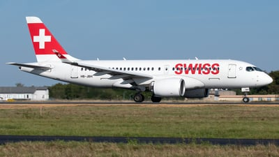 A picture of HBJBH - Airbus A220100 - Swiss - © PAUL LINK